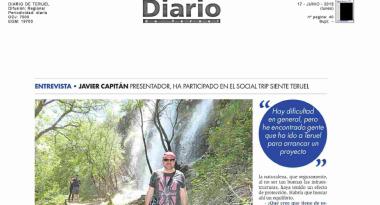 Entrevista a Javier Capitán integrante del socialtrip #sienteteruel