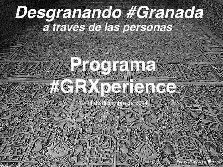 Programa blogtrip GRXperience